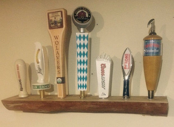 Live Edge Tap Handle Display