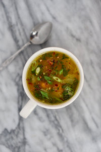 CBD Superfood Simple Vegan Vegetable Soup
