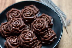 CBD Superfood Vegan Chocolate Rosettes