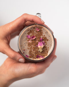 CBD Superfood Chocolate Rose Moon Mylk