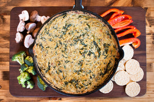 CBD Superfood Spinach and Artichoke Dip