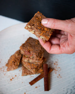 CBD Superfood Raw Apple Pie Bars