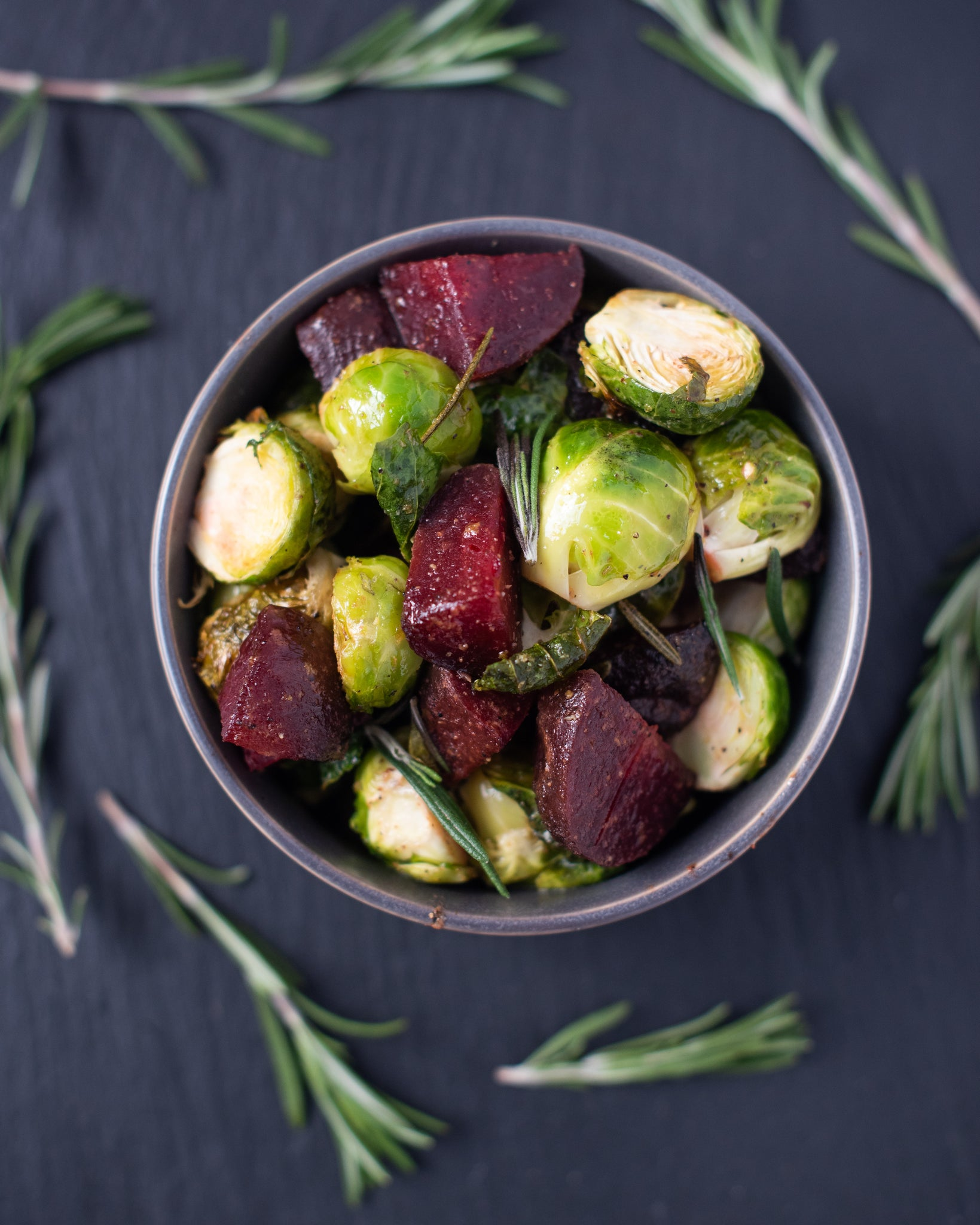CBD Superfood Roasted Beets & Brussels