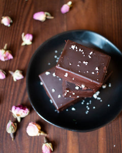 CBD Superfood Chocolate Peanut Butter Moon Cycle Fudge