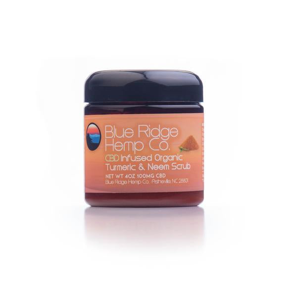 CBD Infused Turmeric & Neem Scrub 4oz 100mg CBD