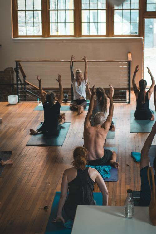 Monday CBD Yoga at Blue Ridge COOP