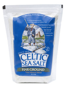 Celtic Sea Salt Fine Ground 1 LB