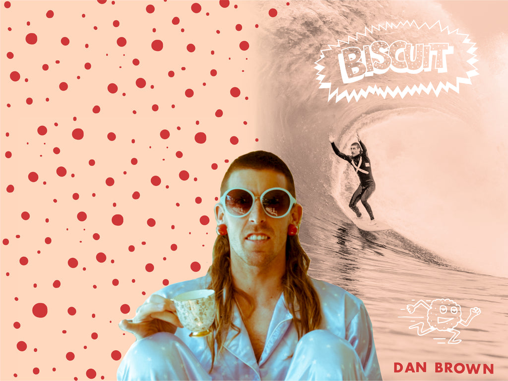 Mullet Boards - Dan Brown 5'4 Biscuit Quad