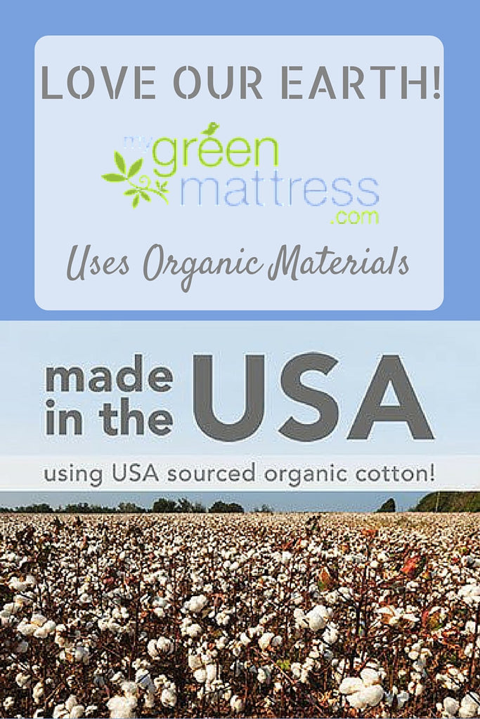 Organic Cotton - Better for the Earth and for the Environment