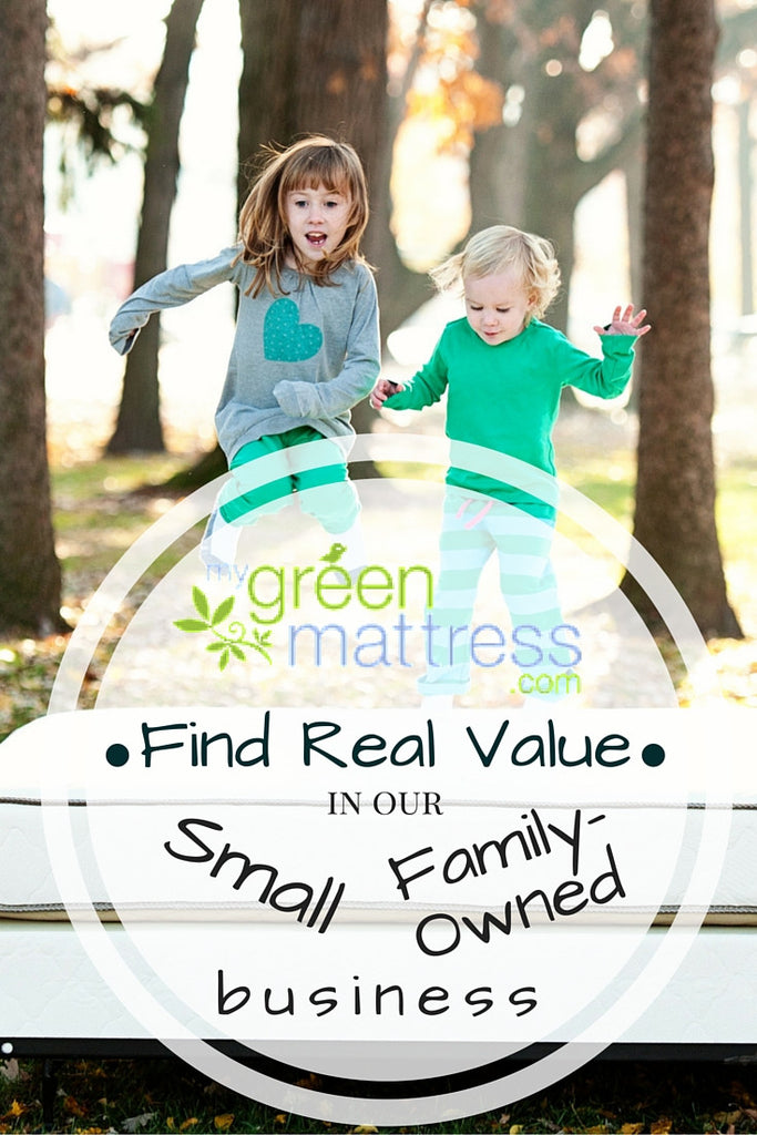 "Shop ""Small"" with My Green Mattress!"