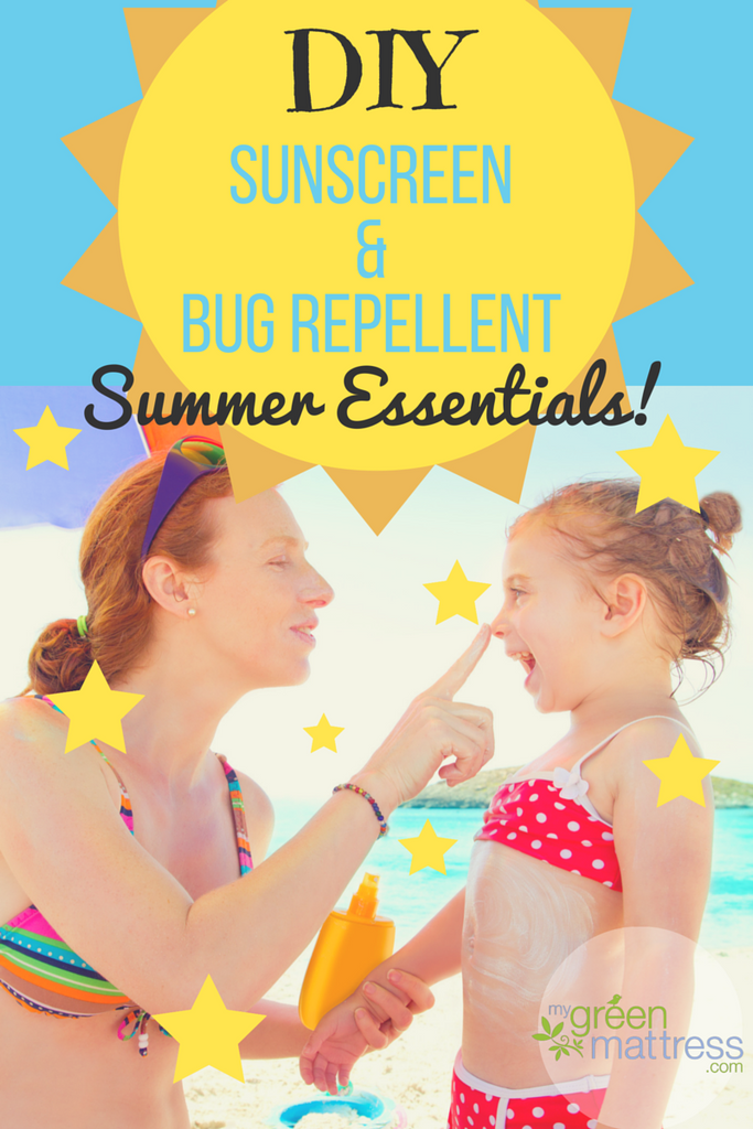 Get Ready for Summer: DIY Sunscreen & Bug Repellent