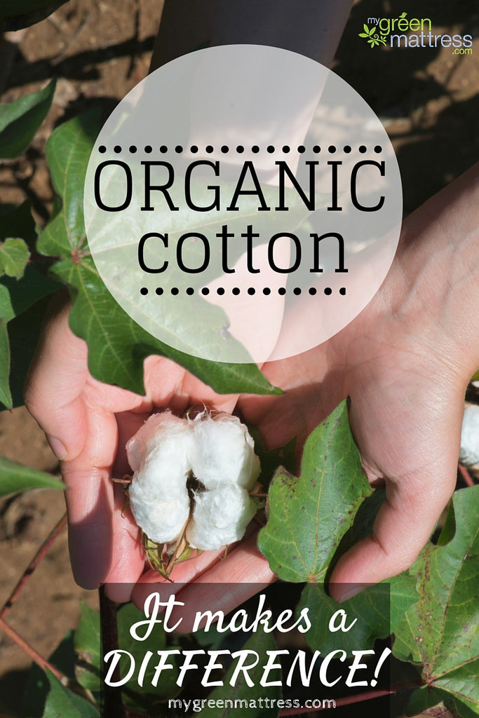 Organic Cotton-it makes a difference!