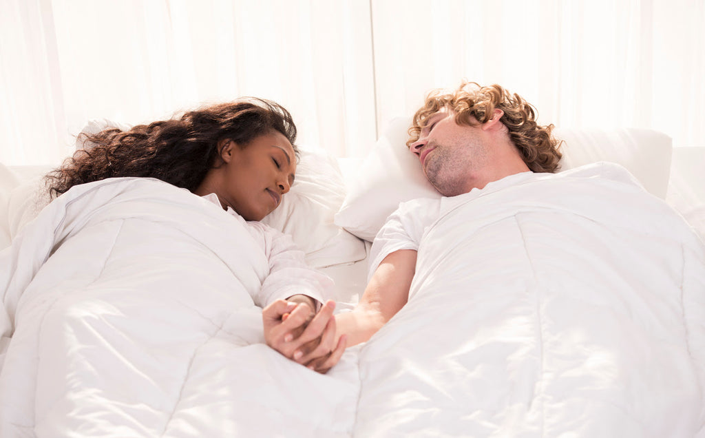 A comfortable bed that suits both you and your partner is the first step to a good night's sleep.