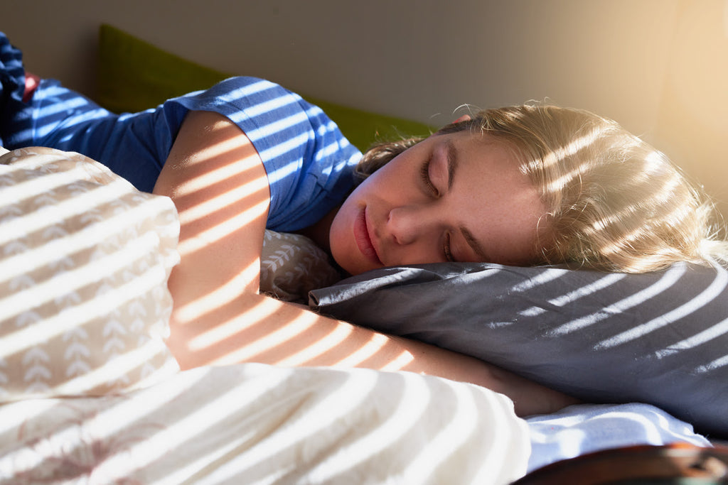 Your body experiences five stages of sleep during a cycle.