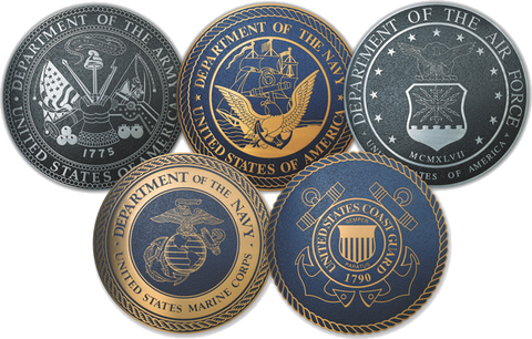 Seals of the Armed Forces of the United States of America