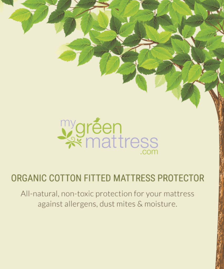 My Green Mattress | Mattress Protector Box (Front)