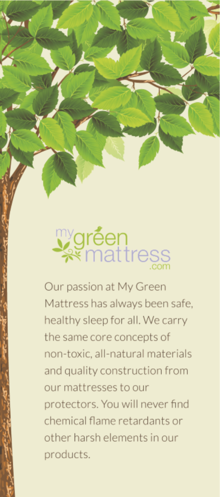 My Green Mattress | Mattress Protector Box (Side 2)