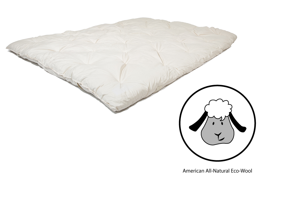 american ecowool mattress toppers