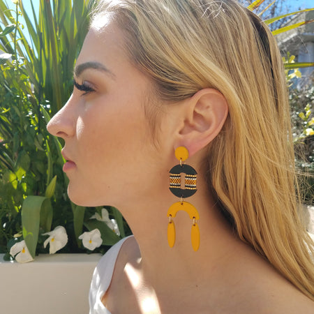 RESORT EARRINGS | PINEAPPLE