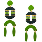 RESORT EARRINGS | LIME