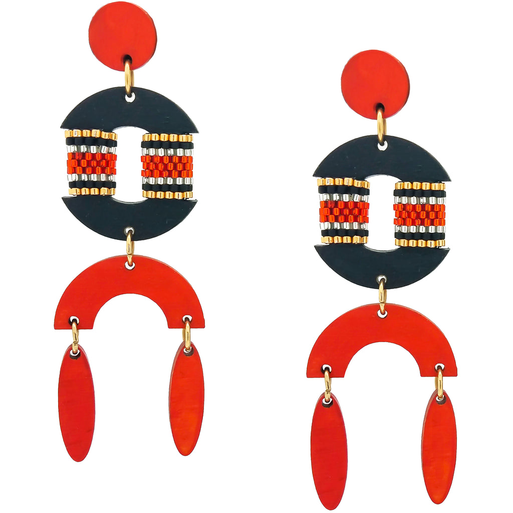 RESORT EARRINGS | PAPAYA