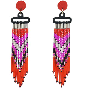 WATERFALL EARRINGS | PAPAYA