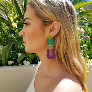 HOURGLASS EARRINGS | SALTWATER