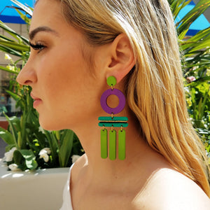 WIND CHIME EARRINGS | SALTWATER