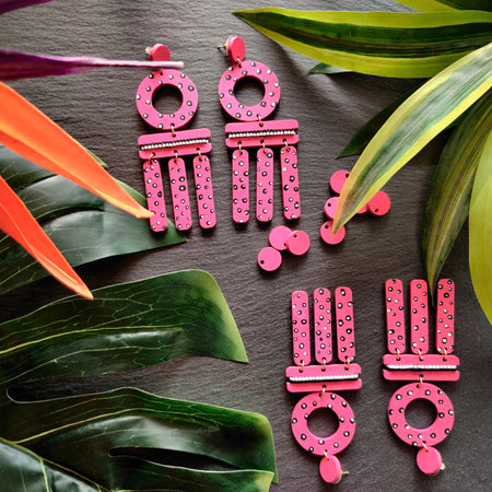 WIND CHIME EARRINGS | GUAVA
