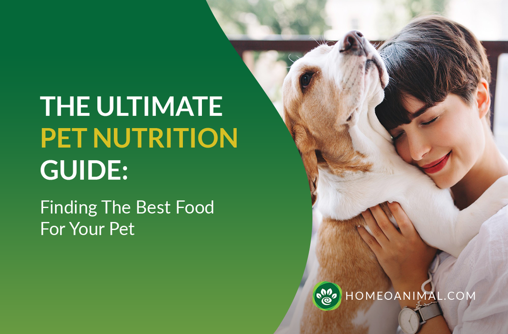 The Ultimate Pet Nutrition Guide : Finding The Best Food For Your Pet