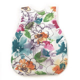 Vibrant Painted Floral Bapron for Toddlers 6m-3T