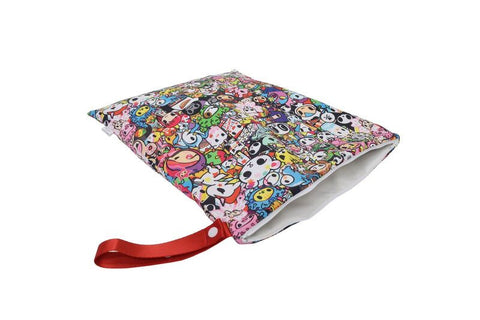 Travel Happens™- Sealed Wet Bag with Handle (Large) - Tokidoki All Stars