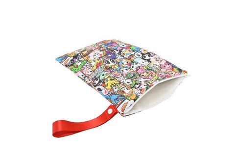 Travel Happens™ - Sealed Wet Bag with Handle (Medium) - Tokidoki All Stars