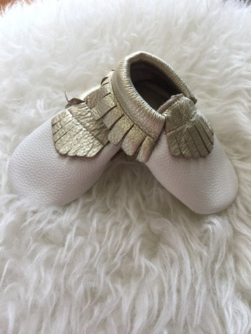 [1FOR1] Baby leather moccassins