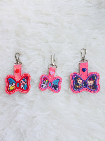 Bag Charms tags - Dreamworld / Rainbow Dreams