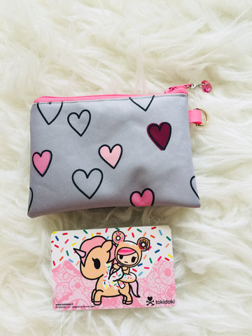 Custom Pouch - Happy Hearts