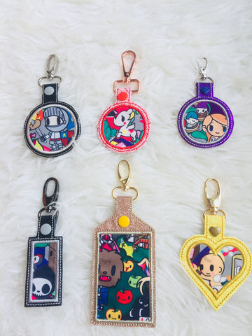 Bag Charms tags - Fairytella