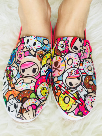 Custom Canvas Shoes (Adults) - Tokipops