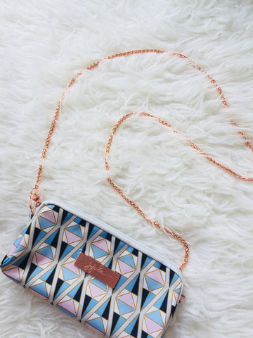 Rose Gold Metal Chain Strap