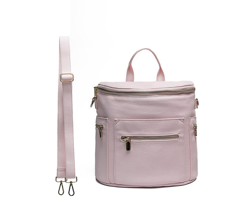 Miss Fong mini Diaper Backpack - Blush Pink mini