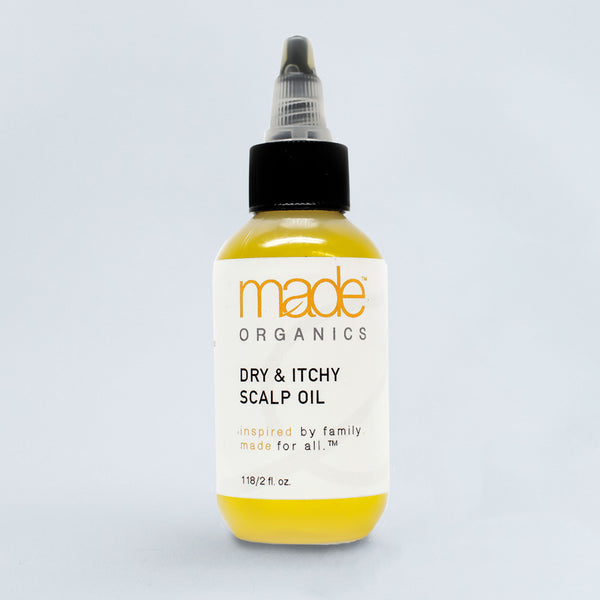 Dry & Itchy Scalp Oil - Made Organics