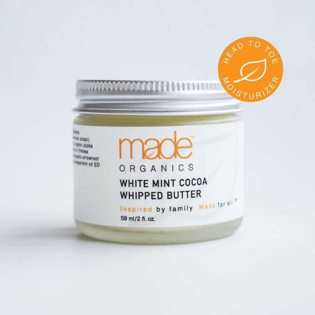 White Mint Cocoa Whipped Butter