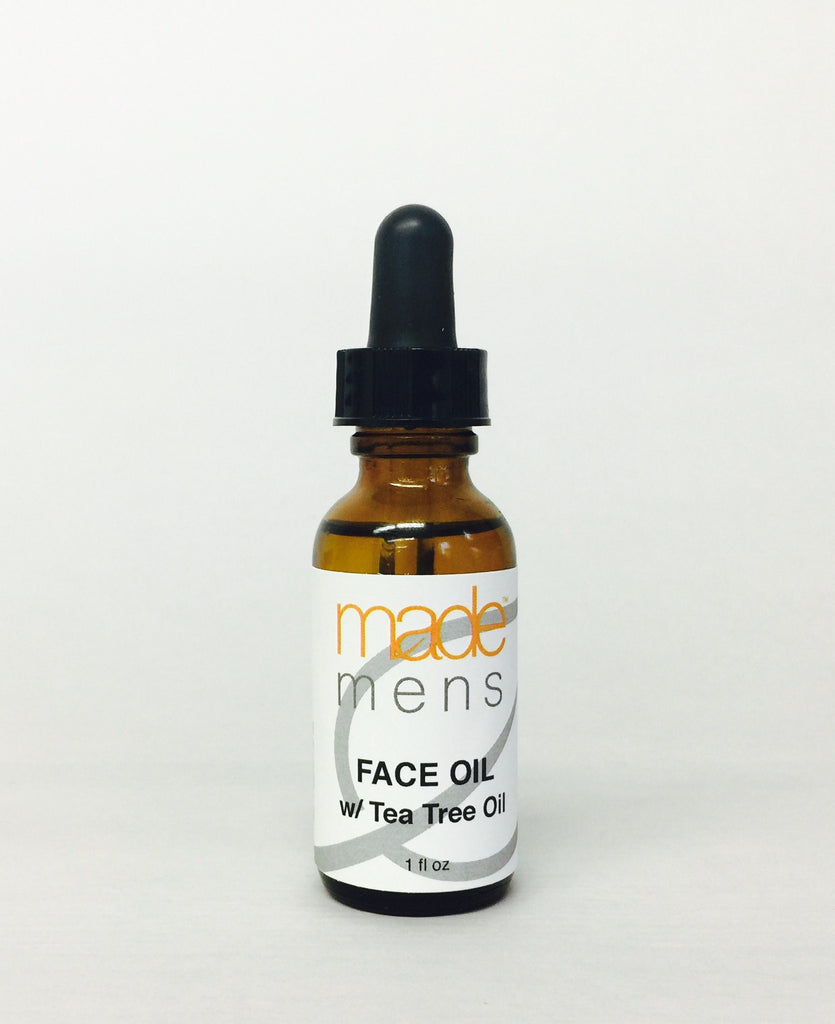 made MEN Oil with Tea Tree