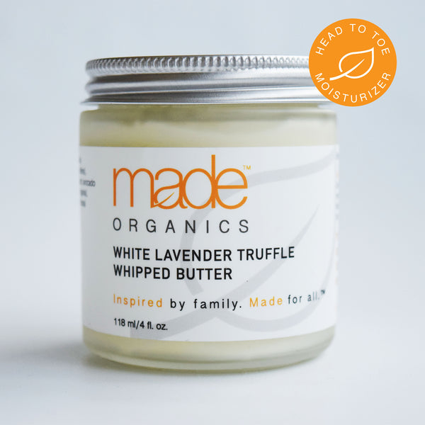 White Lavender Truffle Whipped Butter