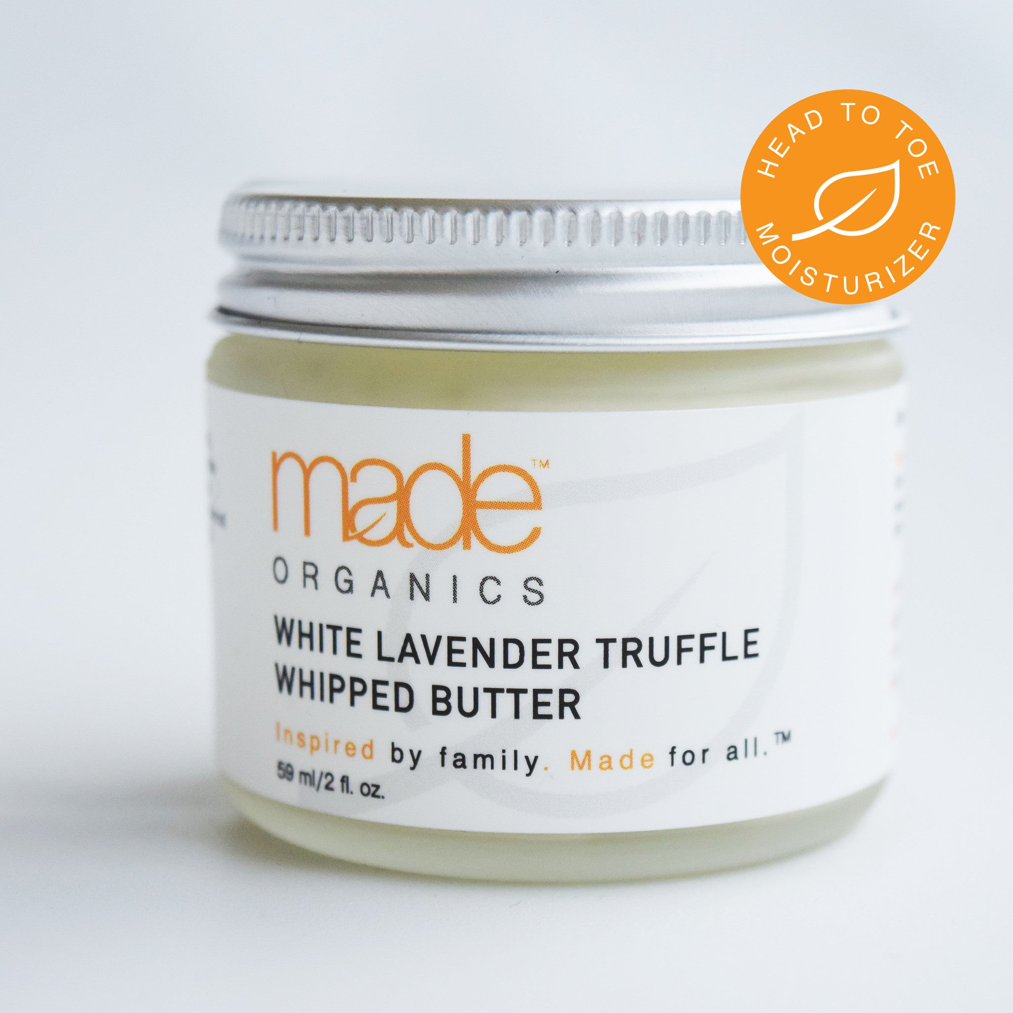 White Lavender Truffle Whipped Butter Head To Toe