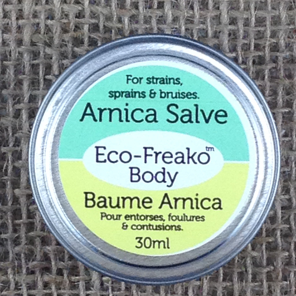 Eco-Freako Arnica Salve in 30ml metal tin