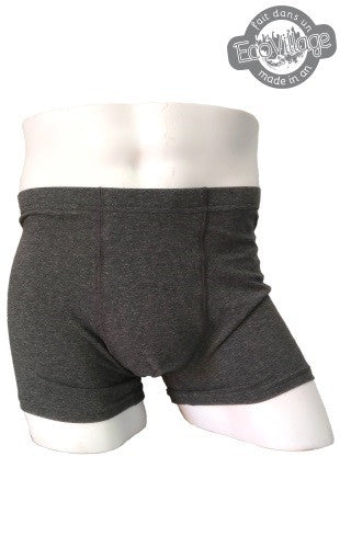 Respecterre Mens Boxer Brief Grey from Eco-Freako