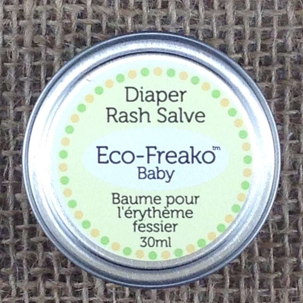 Eco-Freako Diaper Rash Salve in 30ml metal tin