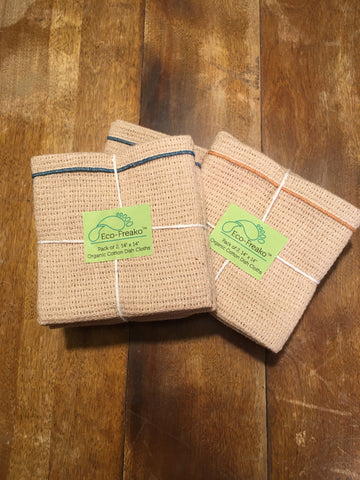 Dish Cloths Organic Cotton