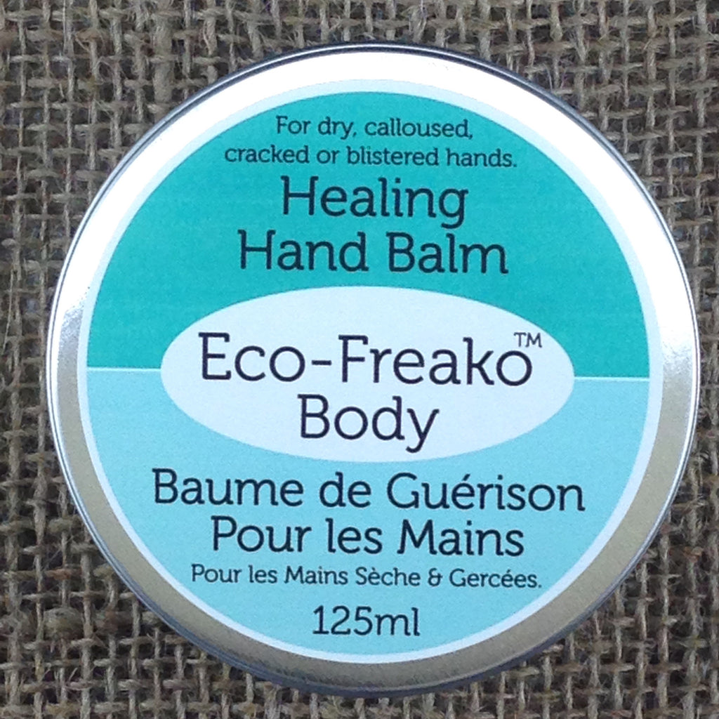 Eco-Freako Healing Hand Balm in 125ml metal tin